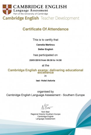 Cambridge English Conference