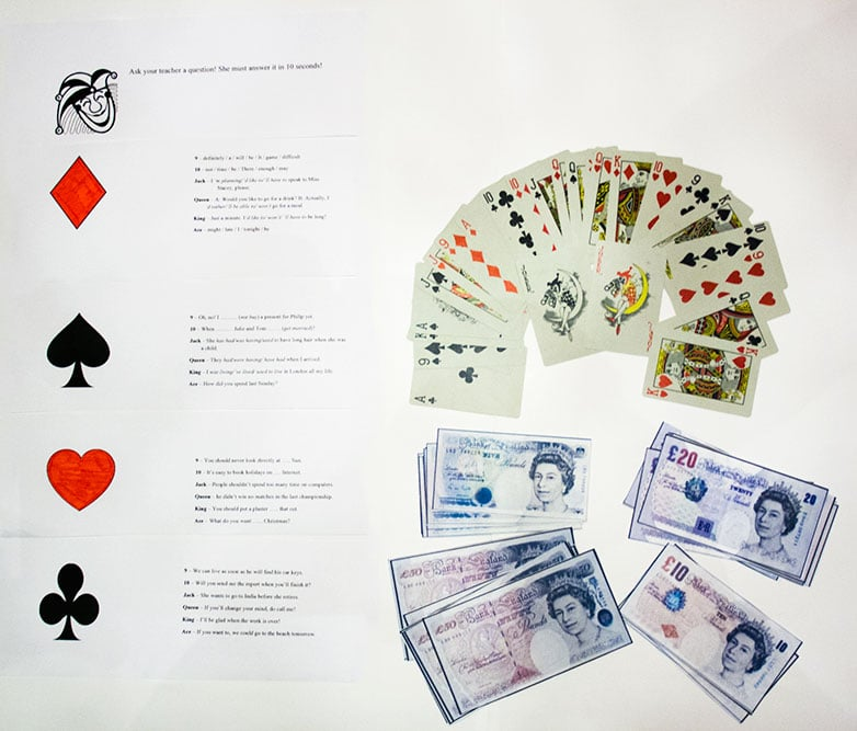 Revision - playing cards