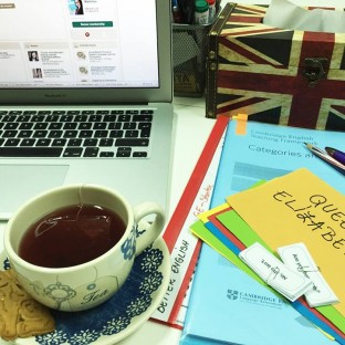 At Better English, lessons have tea flavour