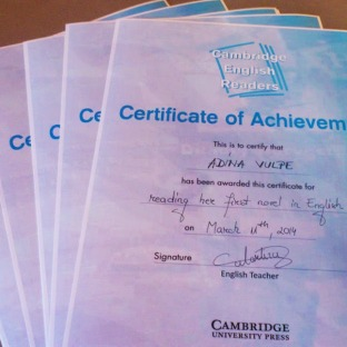 Well deserved awards for my hard working students!