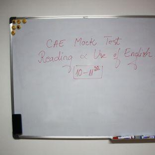 CAE Mock Test