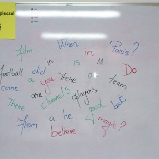 Jumbled sentences - a quick warm-up :-)