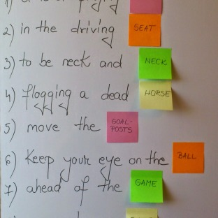 1-2-1 Business English Lesson - Competition idioms